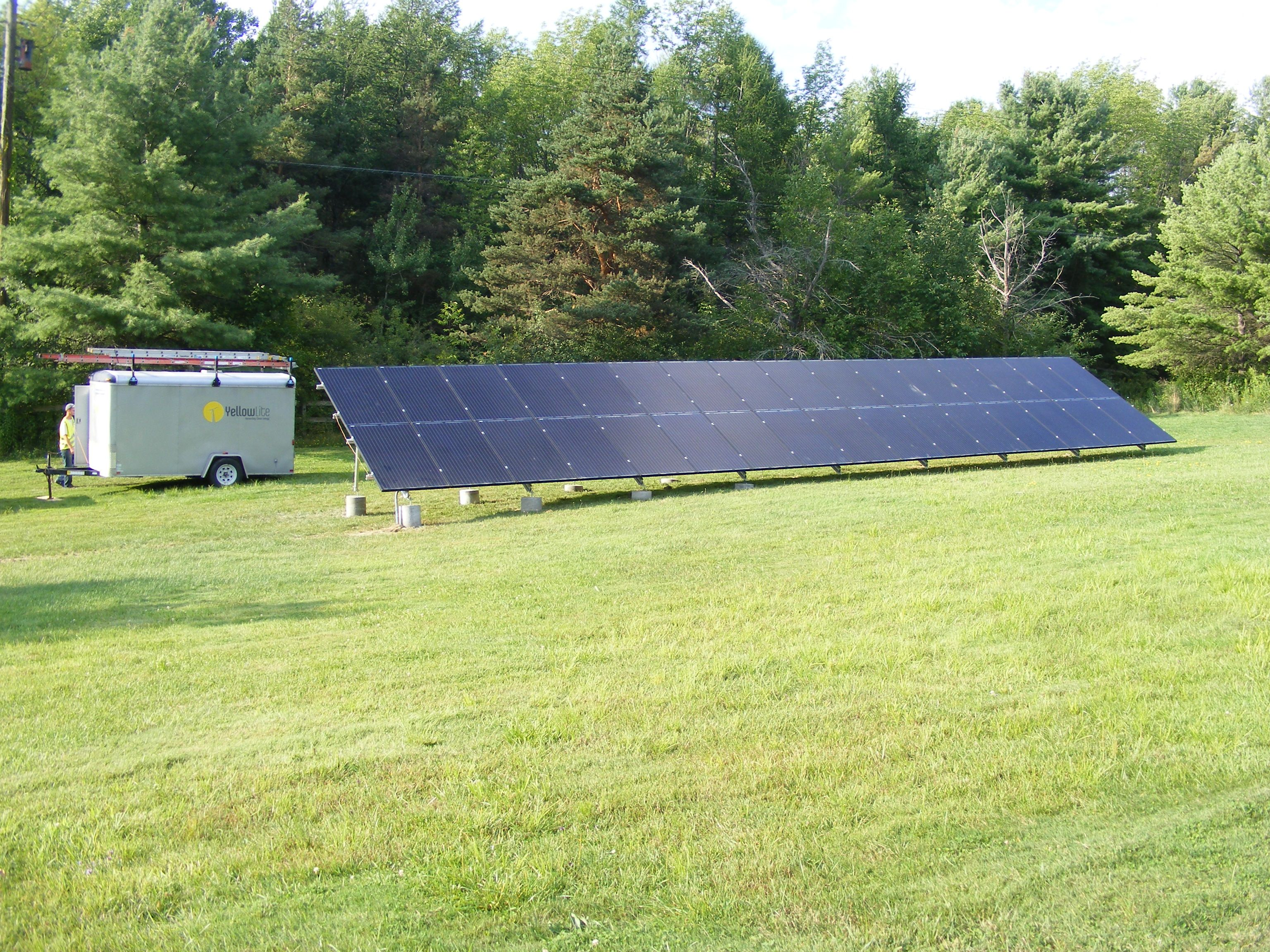 August 14 2015 8 64 Kw Ground Mounted Solar Panel System Installed In Alfred Station Ny Solar Solar Panel Installation Solar Panels
