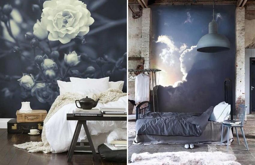 Slaapkamer mooi behang slaapkamer inspirerende foto 39 s en idee n van het interieur en - Behang slaapkamer ...