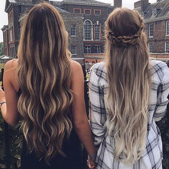 Long hair dreams...  www.hellohair.com.au #longhairdontcare #haircrush #hairinspo #hairposts #mermaidhair
