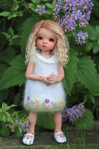 Littlefee blond and lighter blond tips | by Sherbet LollyDolly