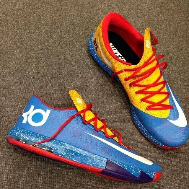 4c75535b966 Online Hot Nike KD 4 Un Nerf Custom Kevin Durant Cheap sale ...