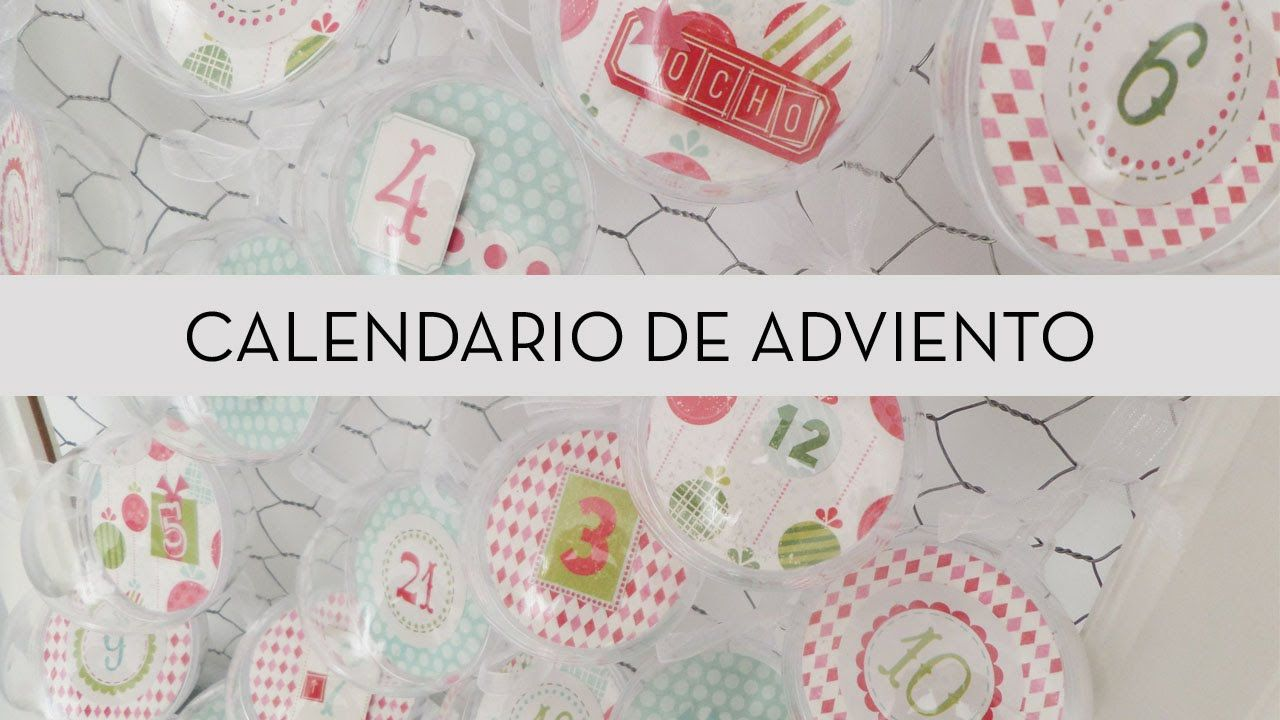 Crea tu propio calendario de Adviento inspirado por el canal ConPdePapel.  Su canal : https://www.youtube.com/channel/UC997fm_pGYjgWTKgYtFHIzg