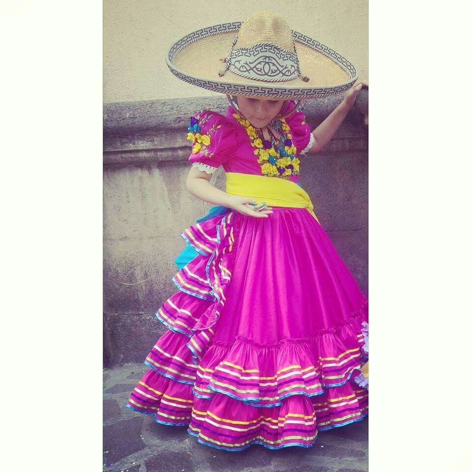 Pin De Gaby En Fiesta De Pao Vestidos Mexicanos Para Niña