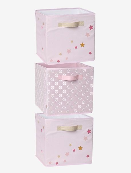 3er set aufbewahrungsboxen f r m dchen rosa room olivia pinterest aufbewahrungsbox rosa. Black Bedroom Furniture Sets. Home Design Ideas