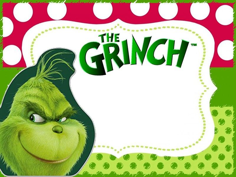 The Grinch 2018 Invitation Cards Invitation World Christmas Invitations Grinch Party Grinch Stole Christmas