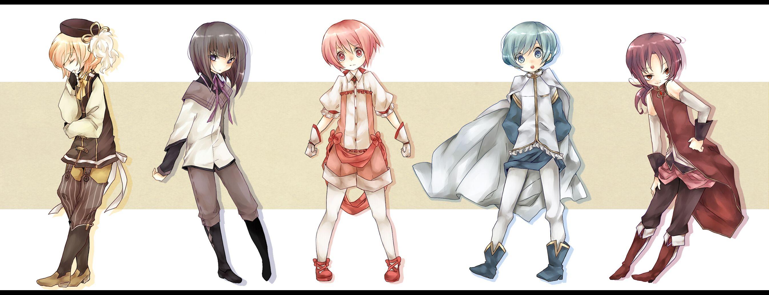 CHIBIS!!!! Madoka magica, Anime, Magical girl