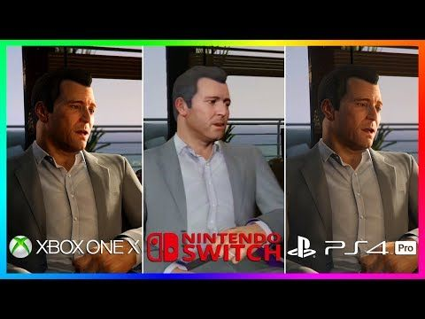 Cool Gta 5 On A New Console 6 Reasons Why It Might Release On Xbox One X Ps4 Pro Or Nintendo Switch Ps4 Pro Xbox One Xbox