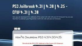 How to Jailbreak PS3 4 31/4 30! Working PS3UPDAT PUP Download for