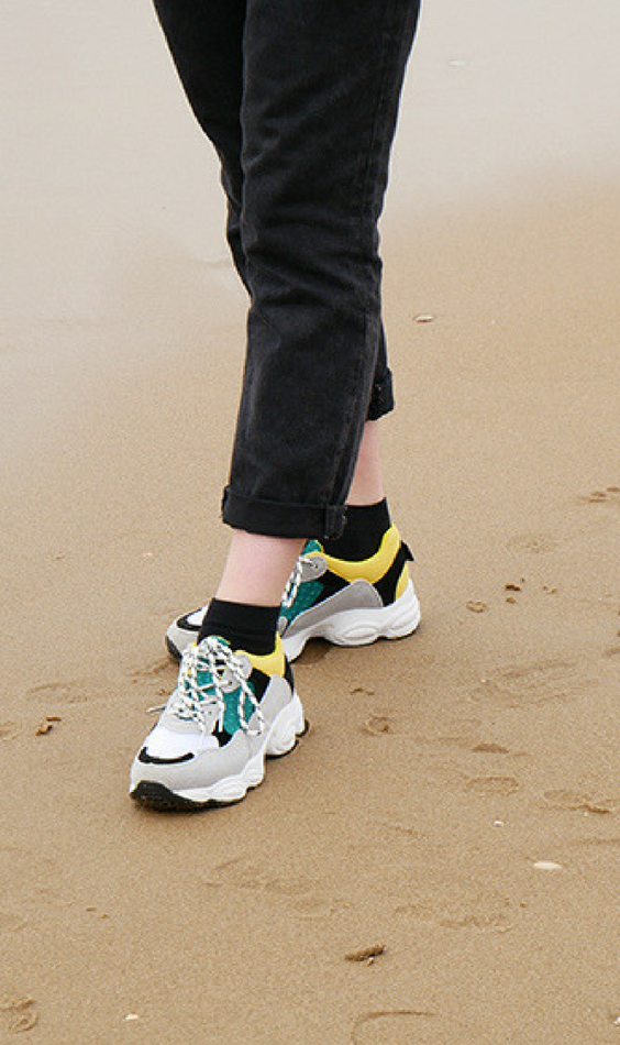 e281044d00f Are you looking for new yellow, grey, white sneakers? Then these sneakers  are
