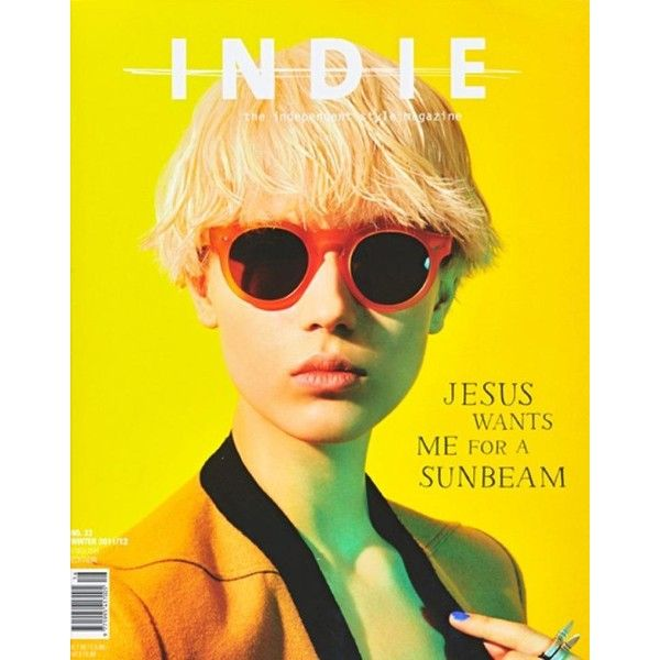 Inde Magazine February 2012 Cover ❤ liked on Polyvore featuring people, backgrounds, models, magazine, pictures and magazine cover
