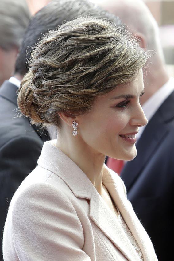 Un bello retrato de la reina Letizia