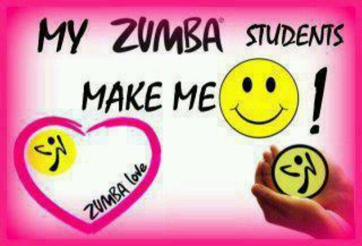 Zumba ~ love my students!!!