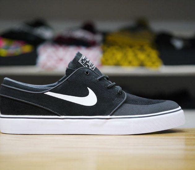buy popular e27de 0e900 Nike SB Stefan Janoski Low PR SE-Black-White-New Slate