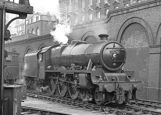 Stanier Jubilee class 45674 Duncan built at Crewe Dec 1935 and remained in service until October 1964.