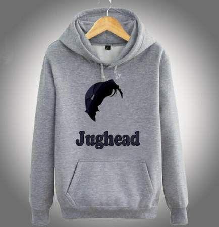 690d1c636b0 Jughead Jones gray hoodie for men riverdale sweatshirt xxxl