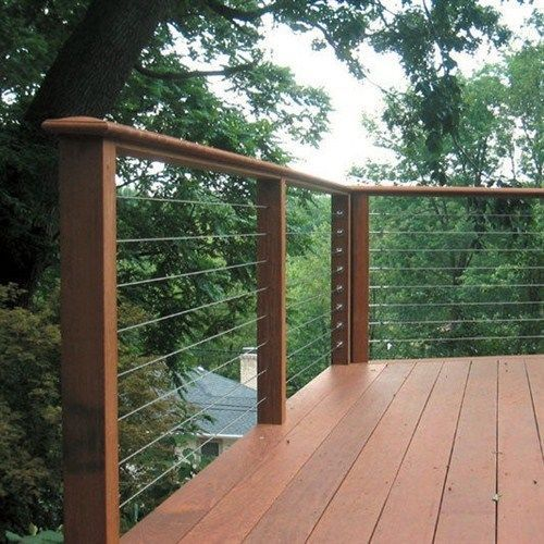 Stainless cable railing, deck railing,raileasy turnbuckle, wire ...