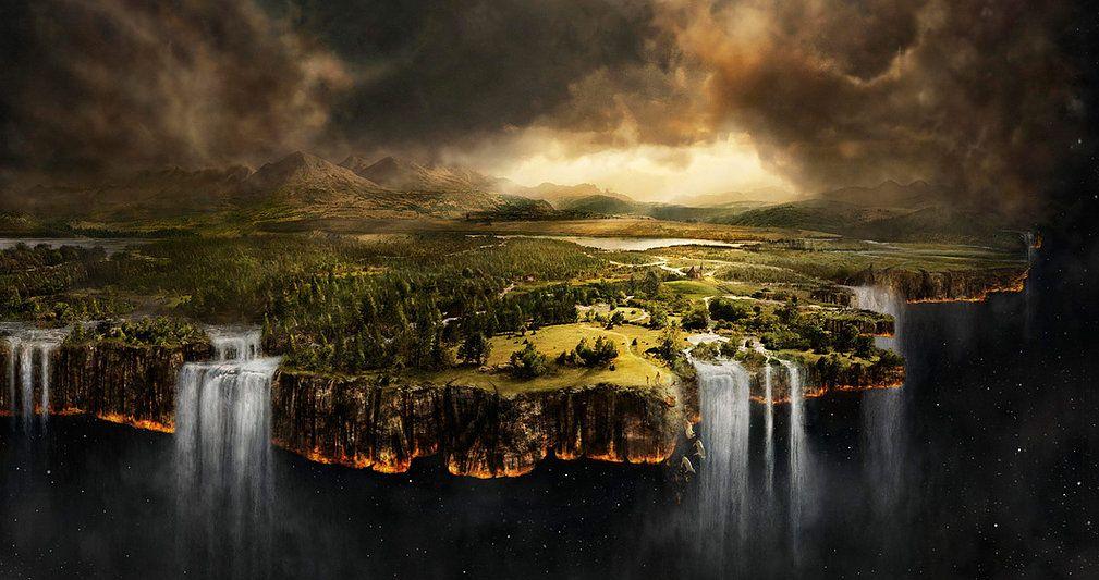 Все горы, каньоны, леса и даже космос над головой — это всего лишь декорации, в которые нас заставили поверить...