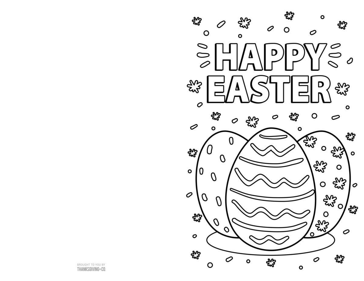 4 free printable easter cards for your friends and family