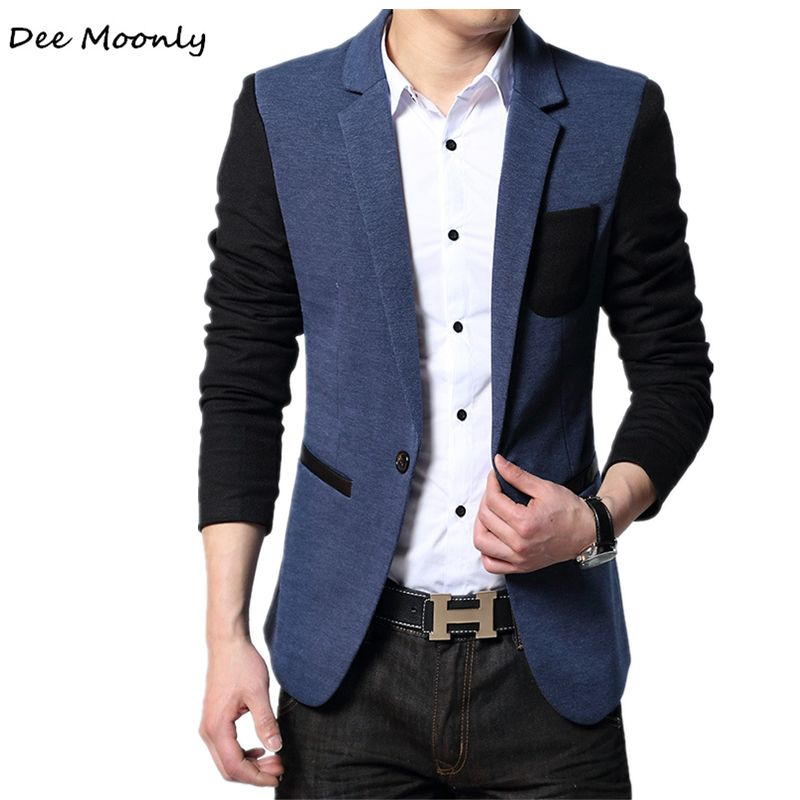 dc60b0cb9fe703 Click to Buy << DEE MOONLY 2017 Style Luxury Business Casual Suit Men  Blazers Set Professional Formal Wedding Dress Beautiful Design Size M-4XL  #Affiliate