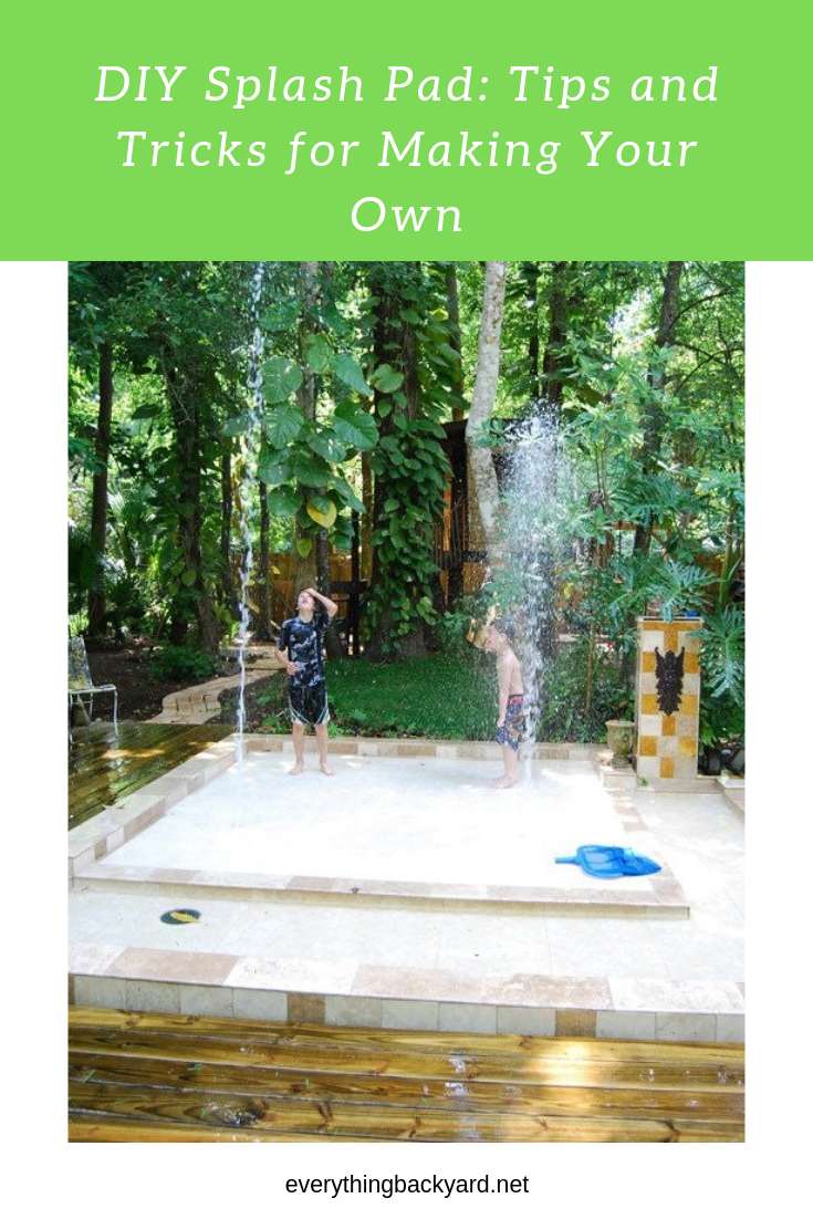 DIY Splash Pad: Tips and Tricks for Making Your Own ...