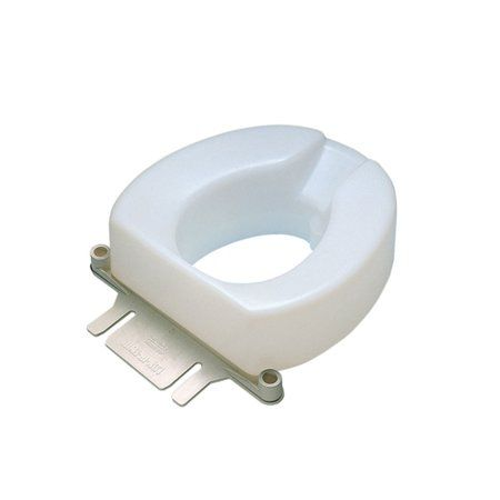 Awesome Contoured Elevated Toilet Seat With Slip In Bracket 2 Inch Ncnpc Chair Design For Home Ncnpcorg