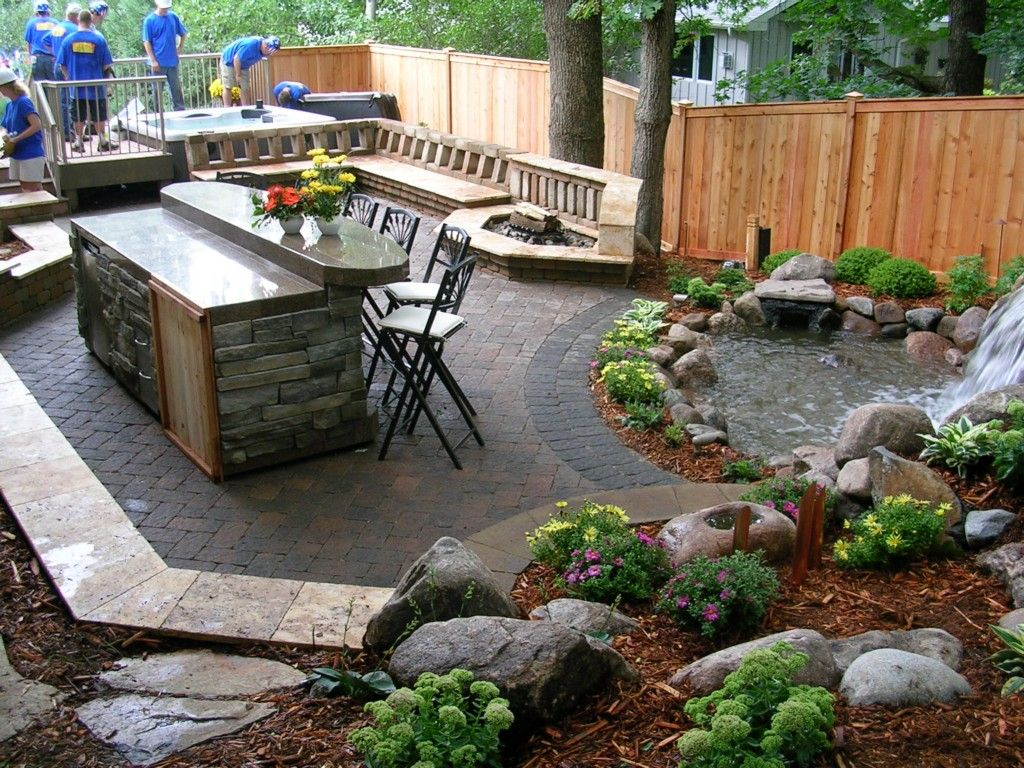 Small southern california backyard google search dream for Garden design ideas ontario