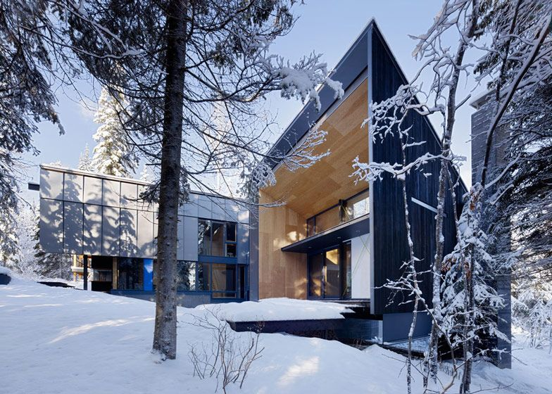 Rocky Mountain Weekend Home With Modern Scandinavian Flare Architecture Architect Architecture Design