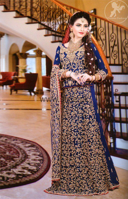 Beautiful Latest Walima Dress