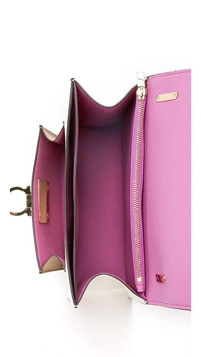 89d19b500ab5 ... Salvatore Ferragamo Small Marisol Shoulder Bag SHOPBOP best service  6101e 093a3 ...