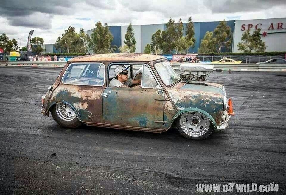 Damn Pro Street Mini Cooper Car Glamour Pinterest Minis