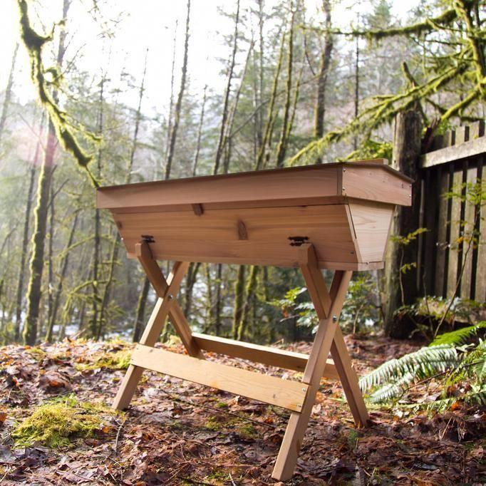 Bee Built top bar hive plans | Top bar hive, Bee keeping ...