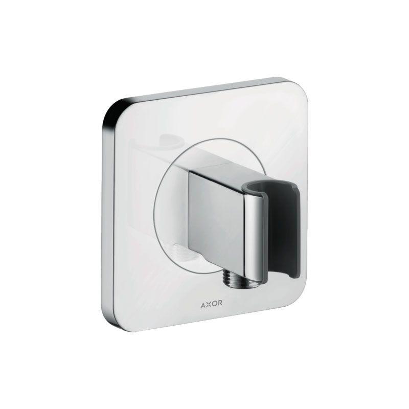 Axor Portereinheit 120/120 softcubemit integriertem Brauseanschluss - Citterio EMerkmale- intergrierte Haltefunktion- mit Rückflussverhinderer- bei Installation in direktem Verbund (10 mm Abstand) zur optimalen Bedienung nur die horizontaleMontage empfohlen- bei Installation in direktem Verbund (10 mm Abstand) wird die Nutzung des GrundkörpersHG-28486180 empfohlen- bei losgelöster Installation (Abstand größer 10mm) ist kein Grundkörper erforderlich- für Schläuche mit konischer Mutterbenötigtes Z