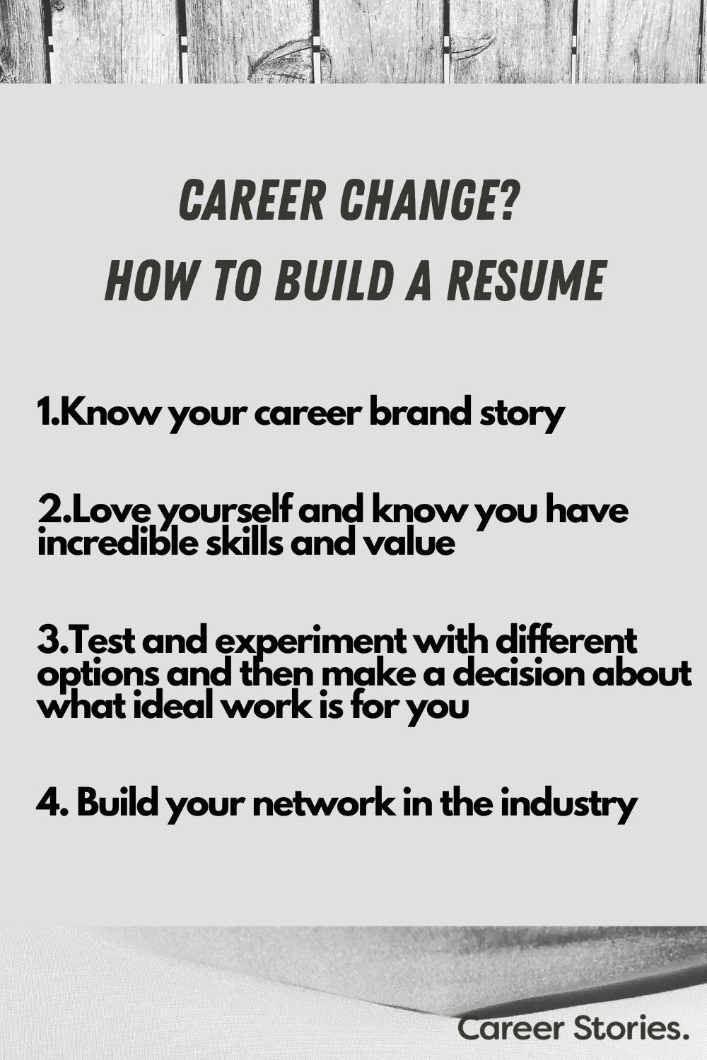 Changing careers? How to write your resume & cover letter