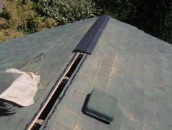 What Does A Ridge Vent On A Roof Look Like Hidden Continuous