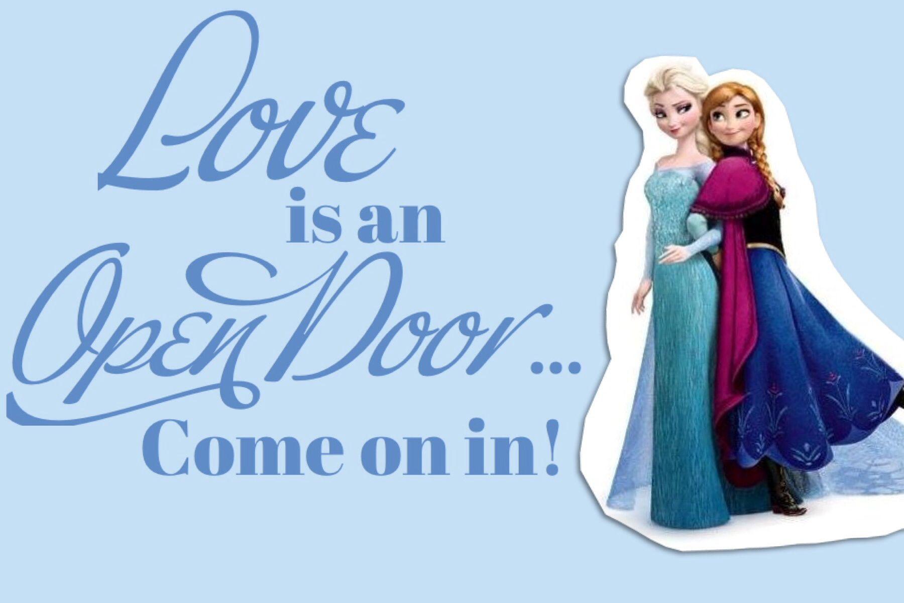Love Is An Open Door Sign Frozen Party Door Signs Halloween Classroom Door Trendy Door