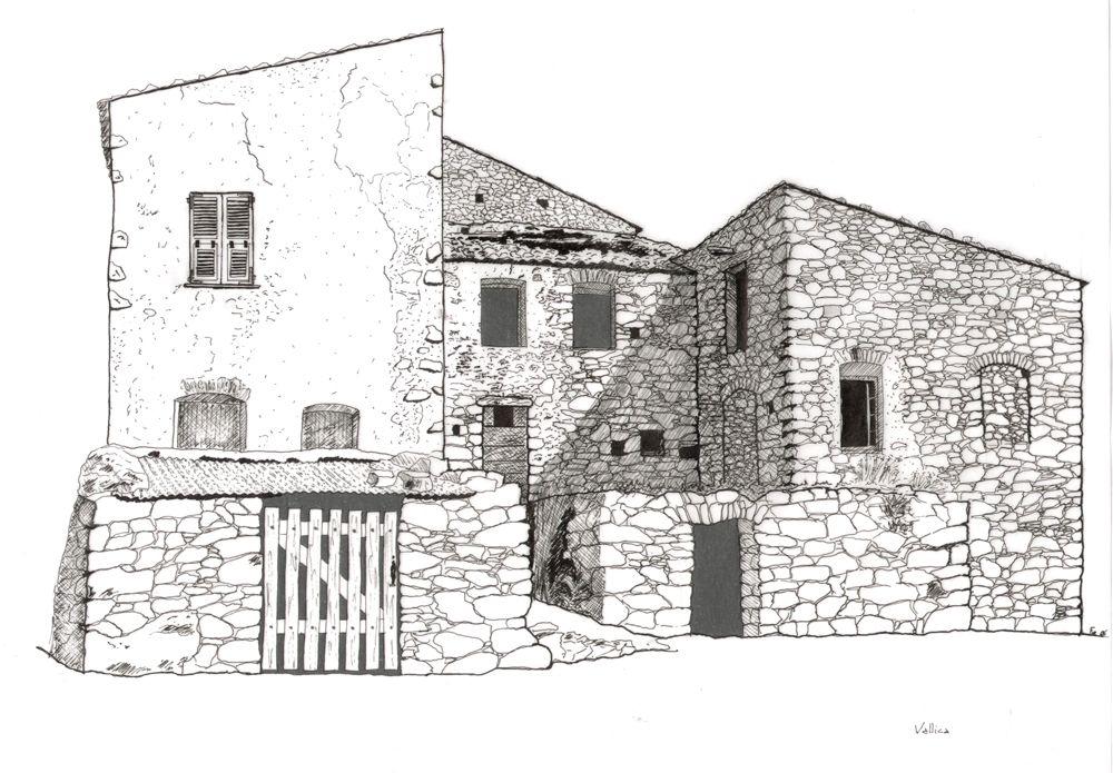 Dessin d Architecture ART, ARCHITECTURE Pinterest Croquis