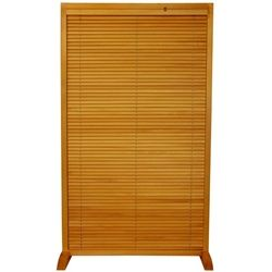 Single Panel Free Standing Adjule Blinds Parion More Finishes Available Folding Screen Room Dividerfolding