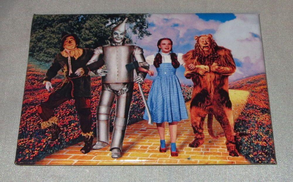 Dorothy scarecrow tin man cowardly lion wizard of
