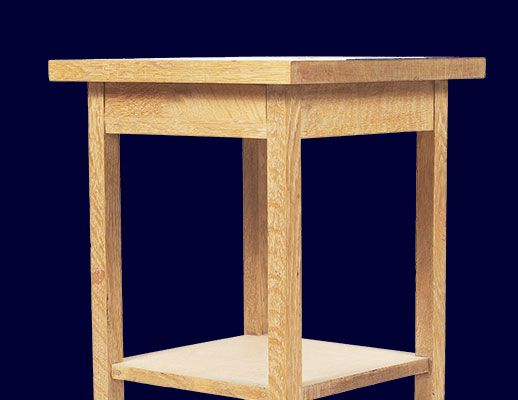 Build An Bedside Table Pdf Plans Diy Tables Nightstand End