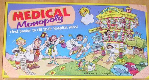 Medical Monopoly. First doctor to fill their hospital wins.
