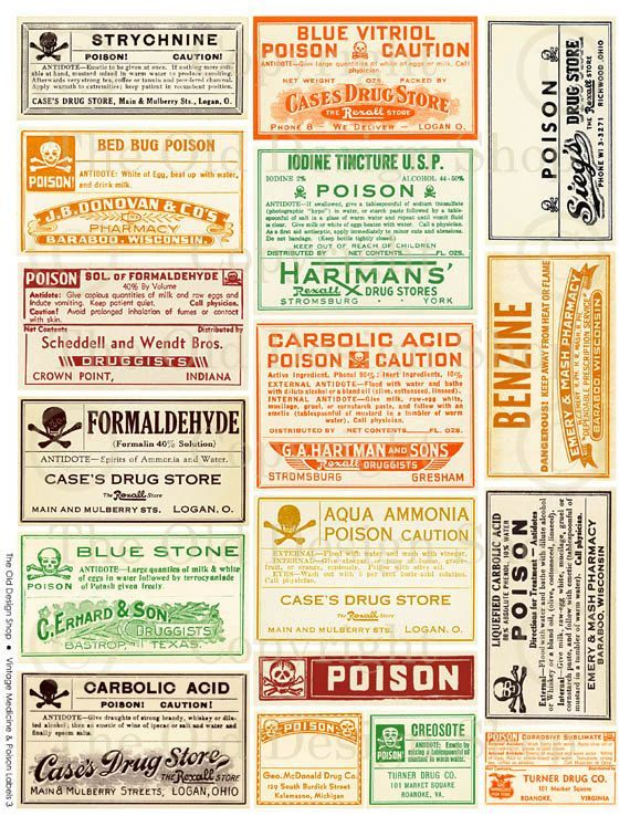 Vintage Medicine Bottle Labels CSRHC Lantern Tours Pinterest - ingredient label template