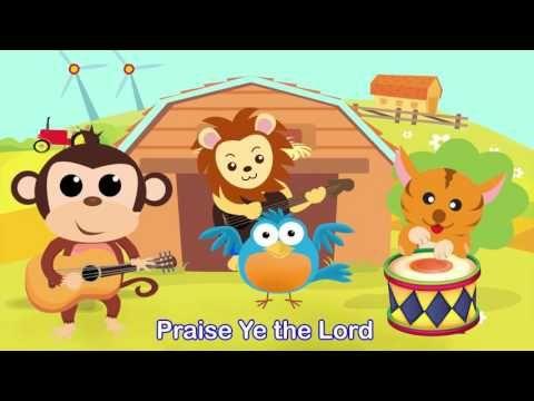 Sing Hosanna Hallelu Hallelu With Lyrics Youtube Kids