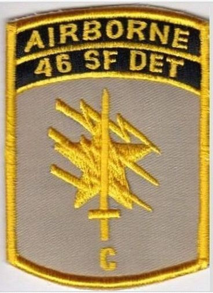 Green Beret US Army Thailand 46th Special Forces Det