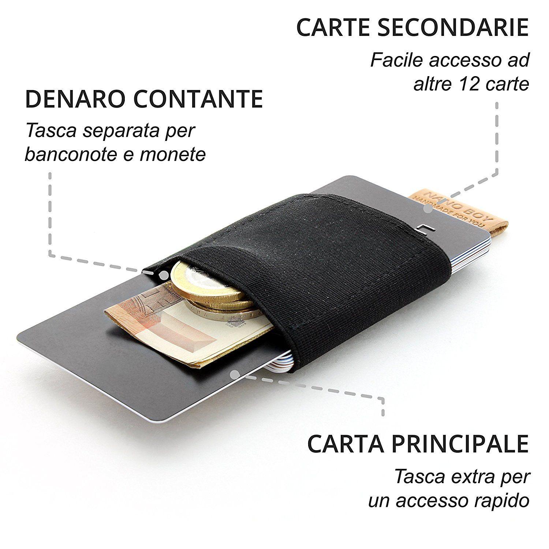 grande vendita 6700d 71865 portafoglio uomo salvaspazio a 15 in offerta su #Amazon ...