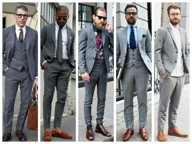Your Guide to Styling the Grey Menswear Trend | Winter mein 2015 ...