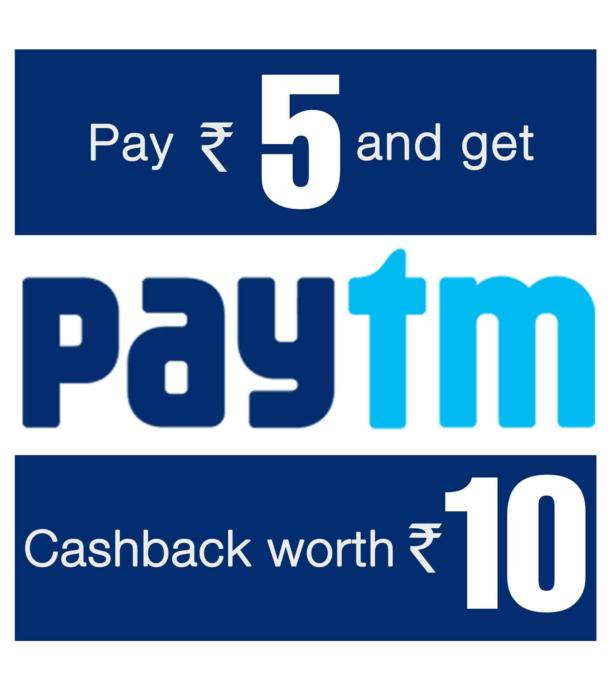 d1e568a3468 Paytm Charagh din offer Pay Rs 5 and Get Rs 10 Cashback ( Trick added for  more )