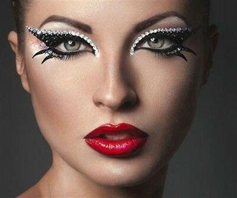#makeup y peinado graduacion, #makeup en vestido rojo, tutoriales de maquillaje, eye mak …