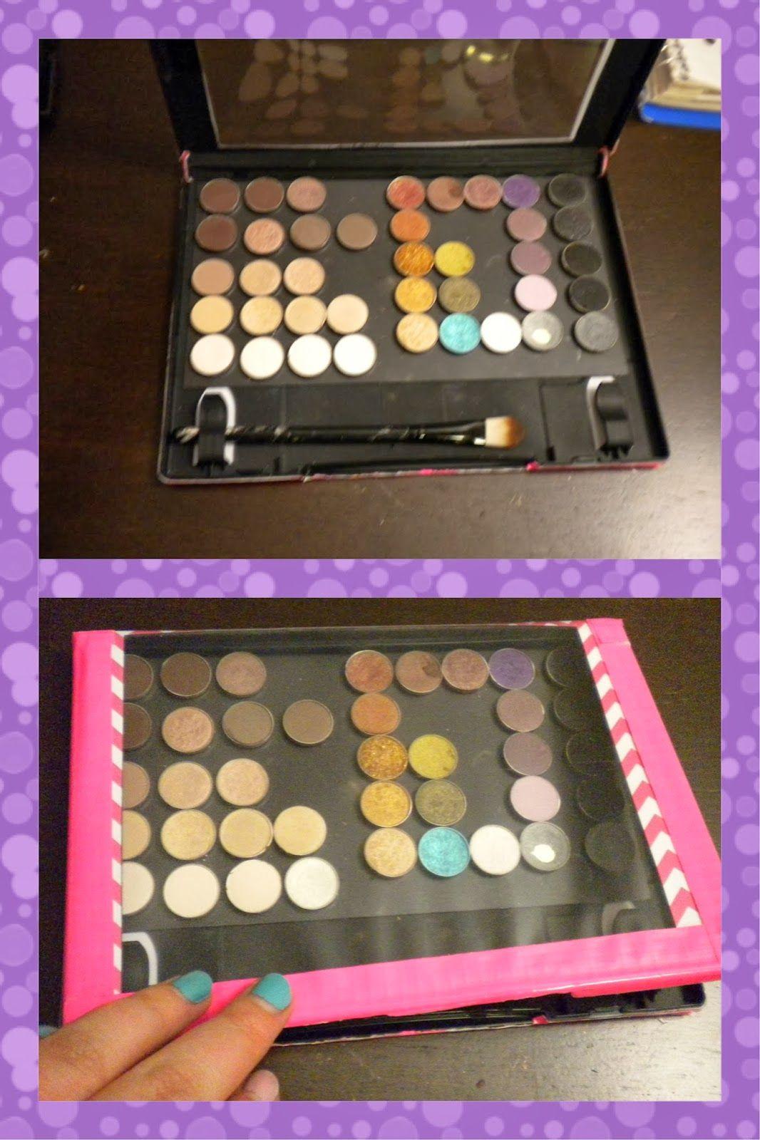 Diy Magnetic Makeup Palette Z Palette Substitute Cittie Tells  # Diy Pallete Cuisine
