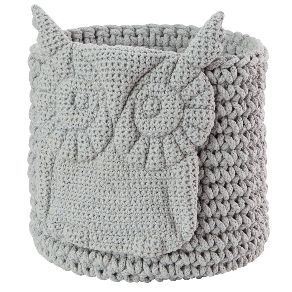 Wee woodland crochet bin grey owl products pinterest products wee woodland crochet bin grey owl bankloansurffo Images