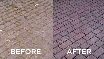 Amazing How To Pressure Clean Your Brick Patio And Walkway